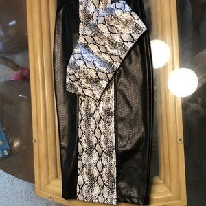 Snake skin outfit